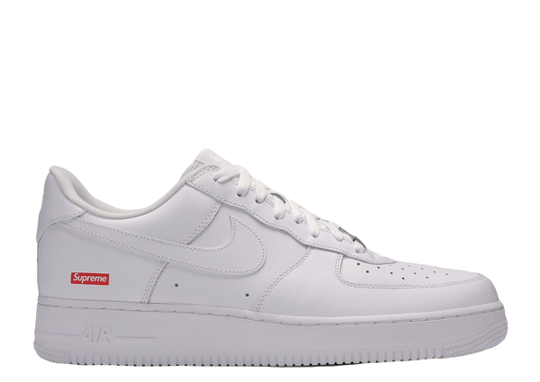 AIR FORCE 1 X SUPREME 'WHITE'