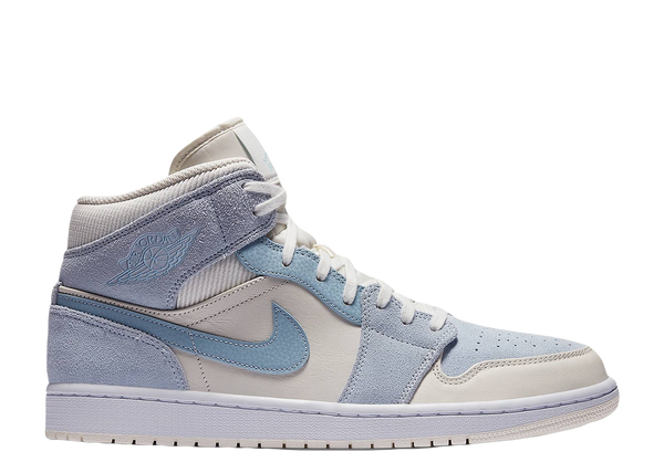 AIR JORDAN 1 MID SE 'MIXED TEXTURE BLUE'