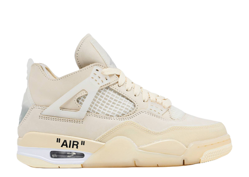 AIR JORDAN 4 X OFF-WHITE 'SAIL'