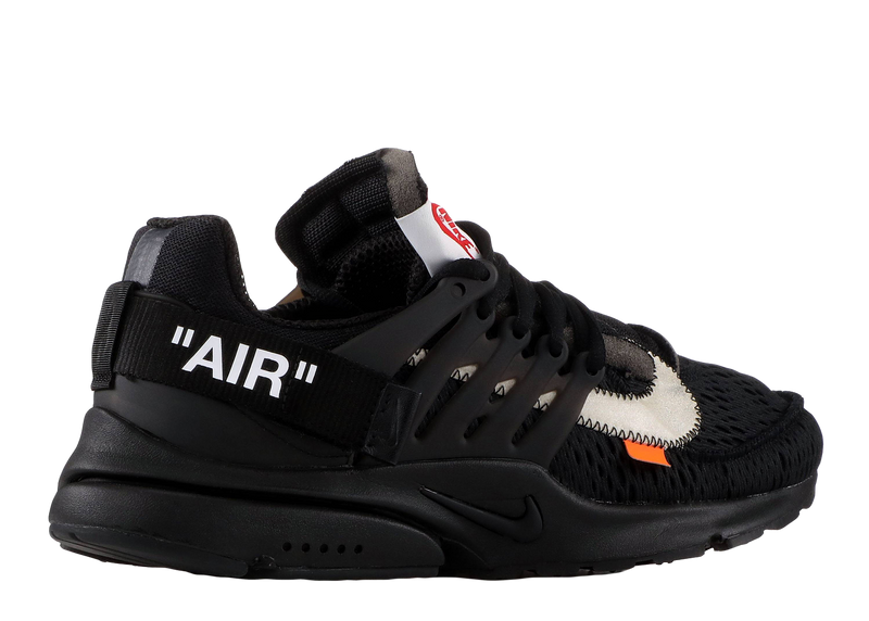 NIKE X OFF-WHITE 'PRESTO' BLACK