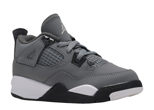 AIR JORDAN 4 RETRO 'COOL GREY' TODDLER