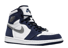 Load image into Gallery viewer, AIR JORDAN 1 RETRO HIGH CO.JP 'MIDNIGHT NAVY' 2020