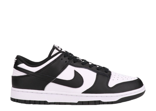 NIKE DUNK LOW GS 'BLACK WHITE'
