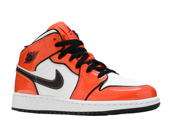 AIR JORDAN 1 MID 'TURF ORANGE' GS