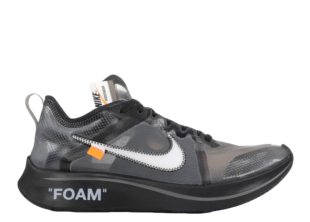 NIKE X OFF-WHITE 'ZOOM FLY' BLACK