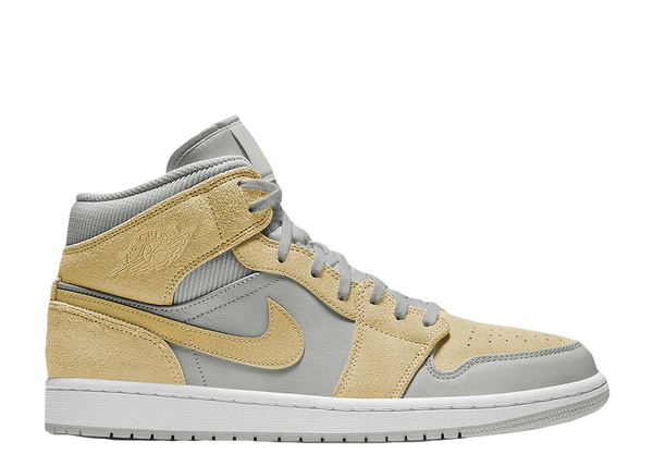 AIR JORDAN 1 MID SE 'MIXED TEXTURE YELLOW'