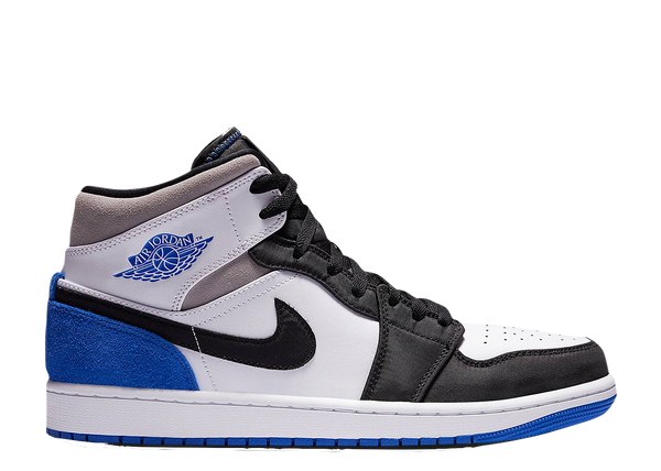 AIR JORDAN 1 MID 'ROYAL BLACK TOE'