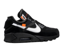 Load image into Gallery viewer, NIKE X OFF-WHITE 'AIR MAX 90' (THE TEN) BLACK