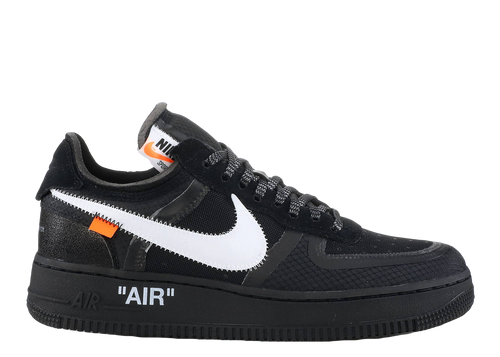 NIKE X OFF-WHITE 'AIR FORCE 1' (THE TEN) BLACK