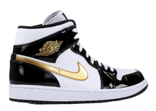 "Load image into Gallery viewer, AIR JORDAN 1 MID ""BLACK GOLD"""