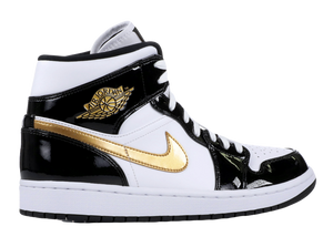 "AIR JORDAN 1 MID ""BLACK GOLD"""
