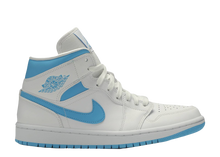 Load image into Gallery viewer, AIR JORDAN 1 MID 'UNC' W