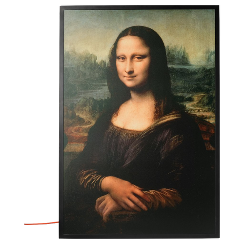 OFF-WHITE X IKEA 'MONA LISA' BACKLIT ARTWORK