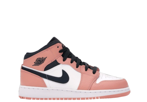 AIR JORDAN 1 MID 'PINK QUARTZ'