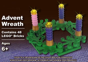 LEGO ADVENT WREATH