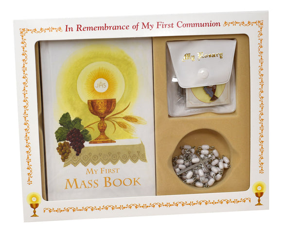 FIRST COMMUNION BOXED GIFT SET - GIRL