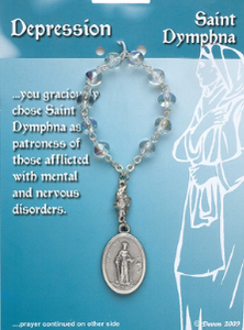 ST DYMPHNA ONE DECADE DEPRESSION CHAPLET