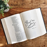 THE CATHOLIC JOURNALING BIBLE - BLESSED IS SHE