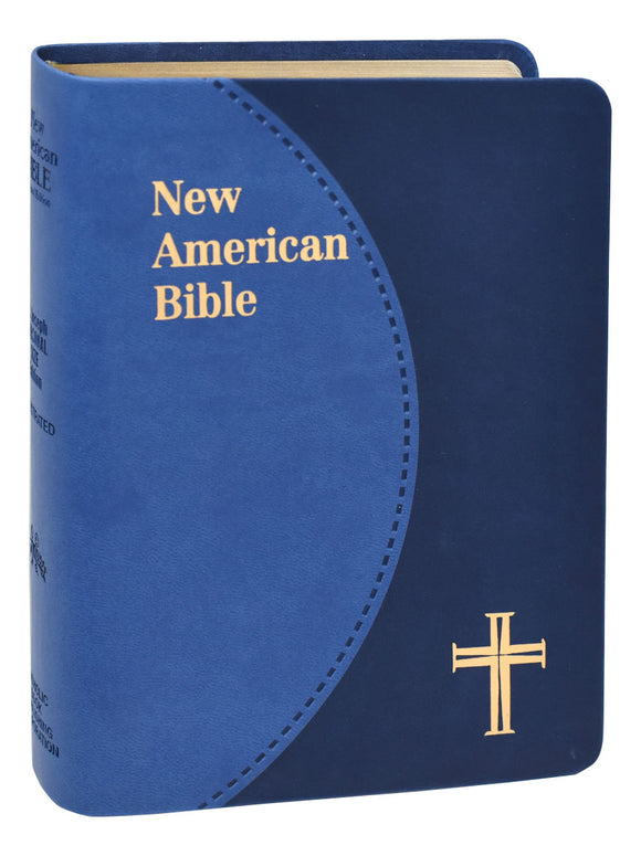 NEW AMERICAN BIBLE - BLUE