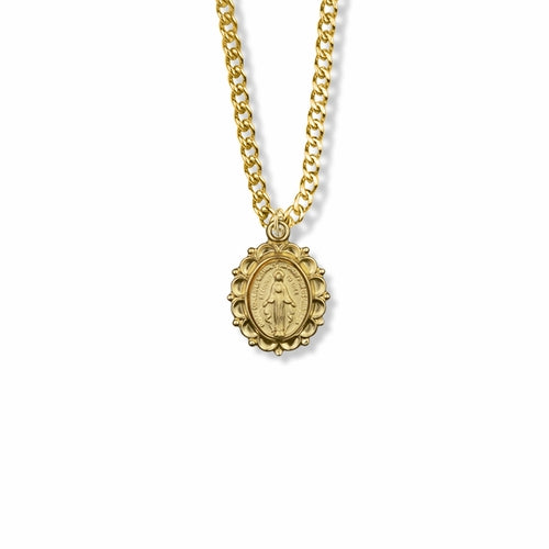 24K GOLD PLATED MIRACULOUS MEDAL