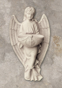 ANGEL HOLY WATER FONT WHITE