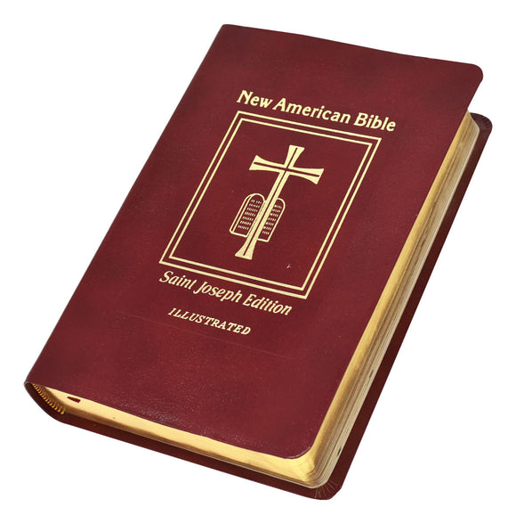 NEW AMERICAN BIBLE - RED