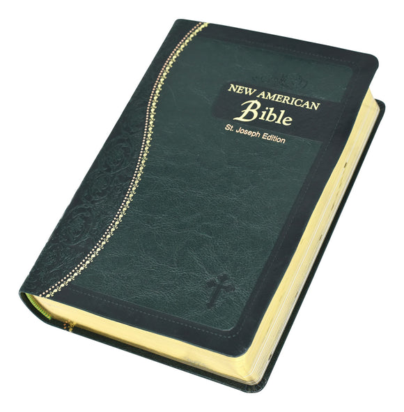 NEW AMERICAN BIBLE -  GREEN