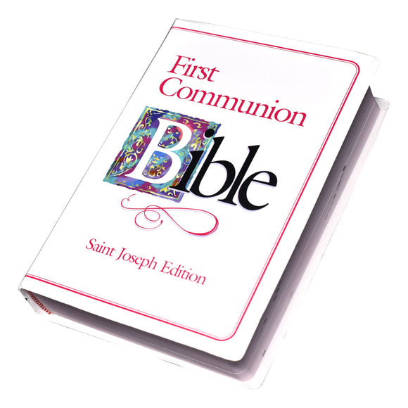 GIRL'S FIRST COMMUNION BIBLE (NABRE)