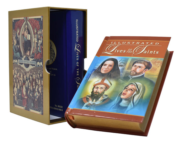 ILLUSTRATED LIVES OF THE SAINTS - BOXED SET
