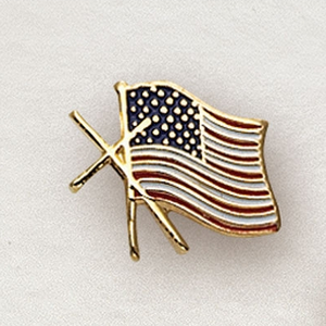 AMERICN FLAG W/CROSS