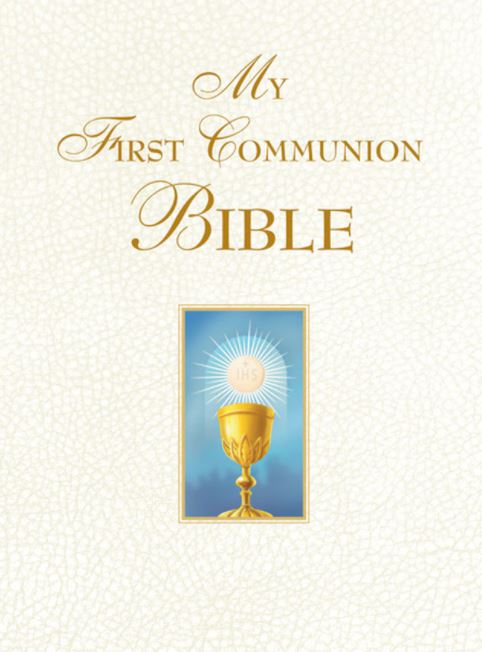MY FIRST COMMUNION BIBLE - WHITE