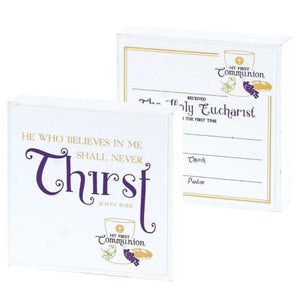 FIRST COMMUNION PRAYER BLOCK