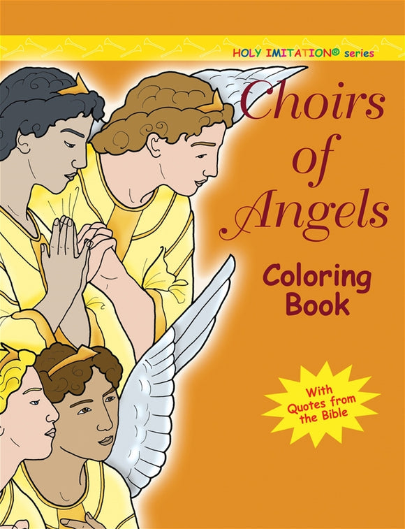 CHOIRS OF ANGELS COLORING BOOK