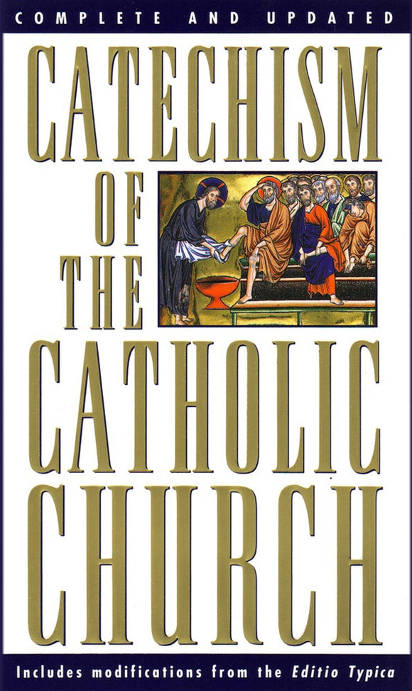 CATECHISM OF THE CATHOLIC CHURCH - Pocket sized edition