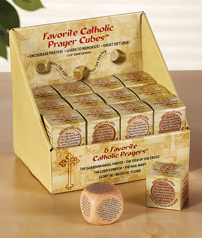 FAVORITE CATHOLIC PRAYER CUBES