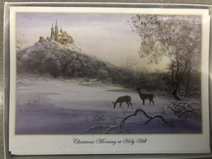 """CHRISTMAS MORNING AT HOLY HILL"" CARDS - 12"