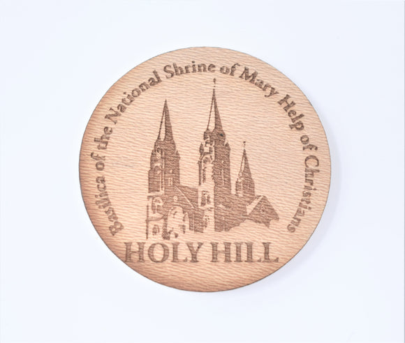 MAGNET-CUSTOM WOOD HOLY HILL