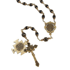 VINTAGE ST BENEDICT ROSARY - online customers only!