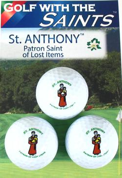 ST ANTHONY GOLF BALLS