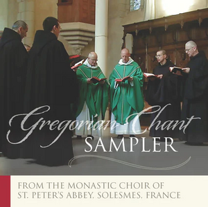 GREGORIAN CHANT SAMPLER  CD