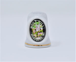 COLLECTORS HOLY HILL CERAMIC THIMBLE