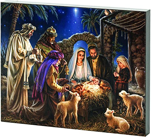 I BELIEVE - NATIVITY PLAQUE