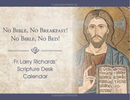 NO BIBLE! NO BREAKFAST! NO BIBLE! NO BED! SCRIPTURE CALENDAR