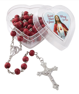SCARED HEART OF JESUS SCENTED ROSARY
