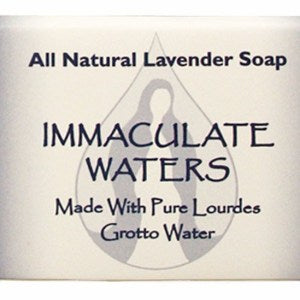 IMMACULATE WATERS LAVENDER BAR SOAP