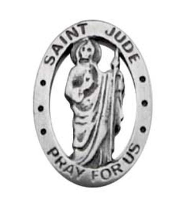 SAINT JUDE LEPEL PIN