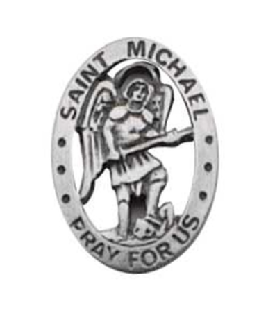 SAINT MICHAEL LAPEL PIN