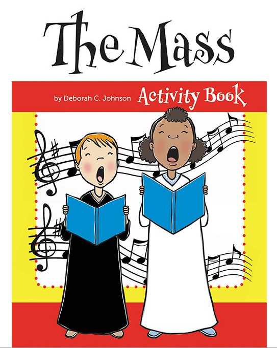 CHILDREN'S ACTIVITY BOOK ABOUT THE MASS