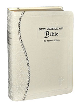 WHITE NEW AMERICAN BIBLE