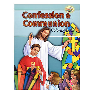 CONFESSION & COMMUNION COLORING BOOK
